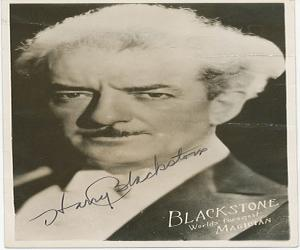 Harry Blackstone, Sr.